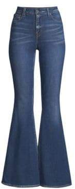 Elie Tahari Leone Flare Jeans