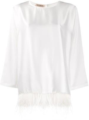 Blanca shift fit blouse