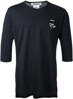 Anrealage flower long T-shirt - men - Cotton - 46
