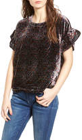 Current/Elliott The Janie Velvet Top