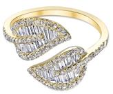 Anita Ko Yellow Gold Leaf Ring