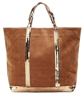 Vanessa Bruno Cabas Medium Embellished Leather Shopper