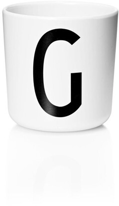 Design Letters Personal Melamine Cup - G