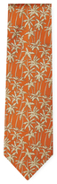 Salvatore Ferragamo Silk Palm Tree Pattern Tie