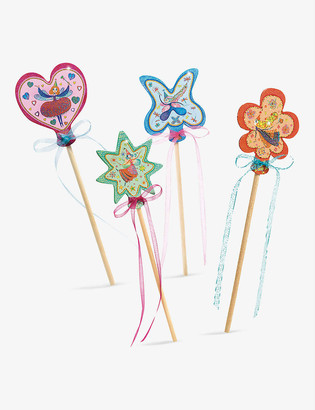 Djeco Little Faries wands set of 4