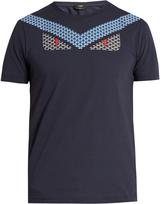 Fendi Bag Bugs-print cotton-jersey T-shirt