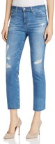 AG Jeans Jodi Distressed Cropped Jeans