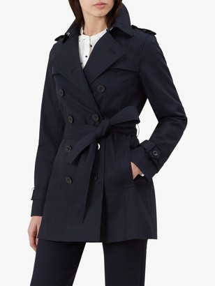Hobbs Sara Mac Coat, Navy