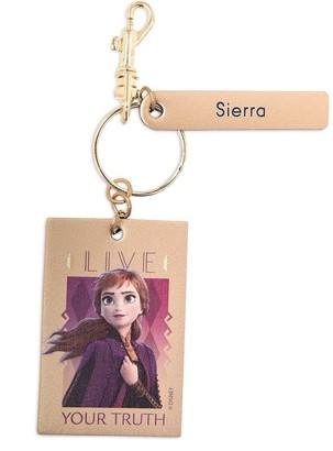 Disney Anna Keychain by Leather Treaty Frozen 2 Personalized