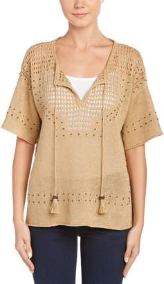 Calypso St. Barth Neilsine Linen Knit Sweater