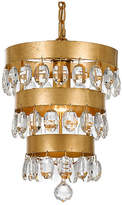 Crystorama Perla Light Mini Chandelier - Gold