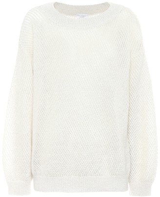 Brunello Cucinelli Mohair and wool-blend sweater