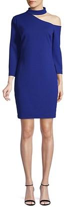 Trina Turk Asymmetrical Mini Dress