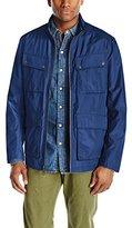 Andrew Marc Men's City Rain Tech Four-Pocket Jacket