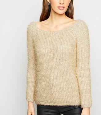 New Look Urban Bliss Metallic Fluffy Knit Jumper