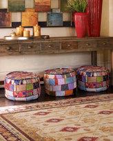 Each Patchwork Ottoman