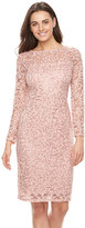 Onyx Nite Women's Lace Sheath Dress