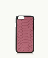 GiGi New York iPhone 6/6s Hard-Shell Case Embossed Python
