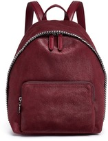 Stella McCartney 'Falabella' small shaggy deer backpack