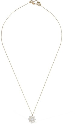 Sophie Bille Brahe Margherita Short Necklace W/ Pearl Charm