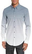 BOSS 'Rodney Fade Out' Trim Fit Print Sport Shirt