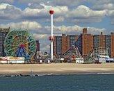 Coney Island Brooklyn New York Original Limited Art Print Photo Poster 24x36