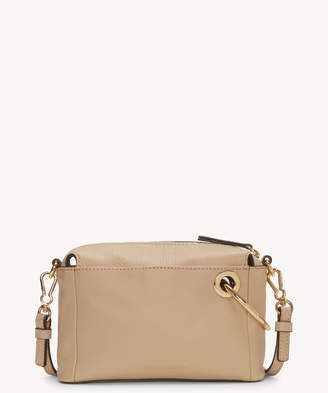 Vince Camuto Women's Margi Crossbody Bag Nude Beige Genuine Leather From Sole Society