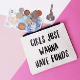Nell Elsie & 'Girls Just Wanna Have Funds' Purse
