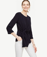 Ann Taylor Home Tops + Blouses Knot Front Top Knot Front Top