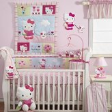 Lambs & Ivy Bedtime Originals Hello Kitty and Puppy Diaper Stacker - Pink