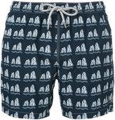 Capricode - stone print swim shorts - men - Polyamide - S