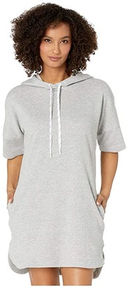 Speedo Hoodie Cover-Up (Heather Grey) Women's Swimwear