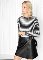 Other Stories Striped Cotton Sweater