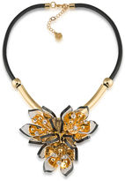 Trina Turk Gold Bloom Necklace