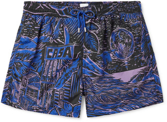 Paul Smith Mid-Length Printed Swim Shorts