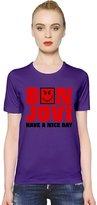 zeus apparel Bon Jovi - Have a Nice Day Womens T-shirt