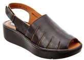 Fly London Jaze Leather Wedge.