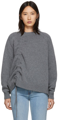 McQ Grey Drawstring Sweater