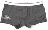 Dolce & Gabbana Logo Crown Boxer Shorts