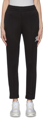 Alexander Wang French terry embroidered sweatpants