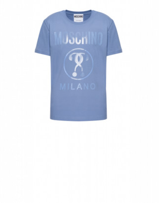 Moschino Jersey T-shirt Double Question Mark