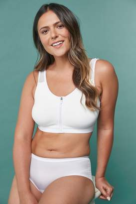 Next Womens White Post Surgery Zip Bra - White