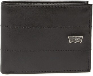 Levi's Marina Leather Passcase Wallet