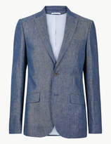 M&S CollectionMarks and Spencer Big & Tall Tailored Fit Jacket