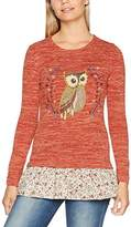 Joe Browns Women's Cute and Quirky Owl 2 in 1 Jumper,8
