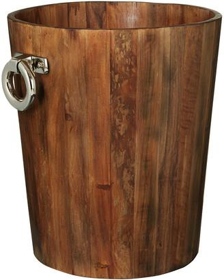 OKA Sumava Log Bin, Small - Recycled Elm