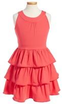 Kate Spade Girl's Pom Skirt Dress