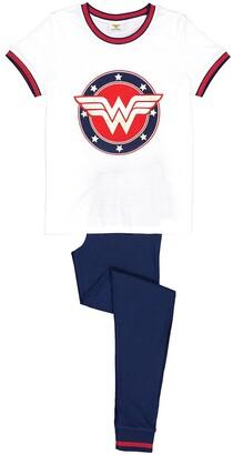 Wonder Woman Cotton Short-Sleeved Pyjamas, 10-16 Years