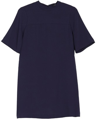 BCBGMAXAZRIA Short Sleeve Woven Dress