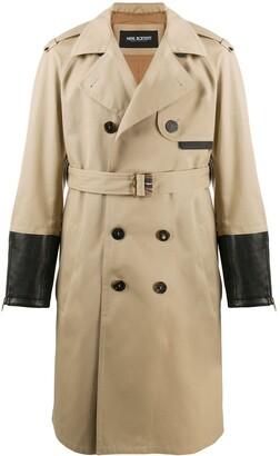 Neil Barrett Belted Trench Coat